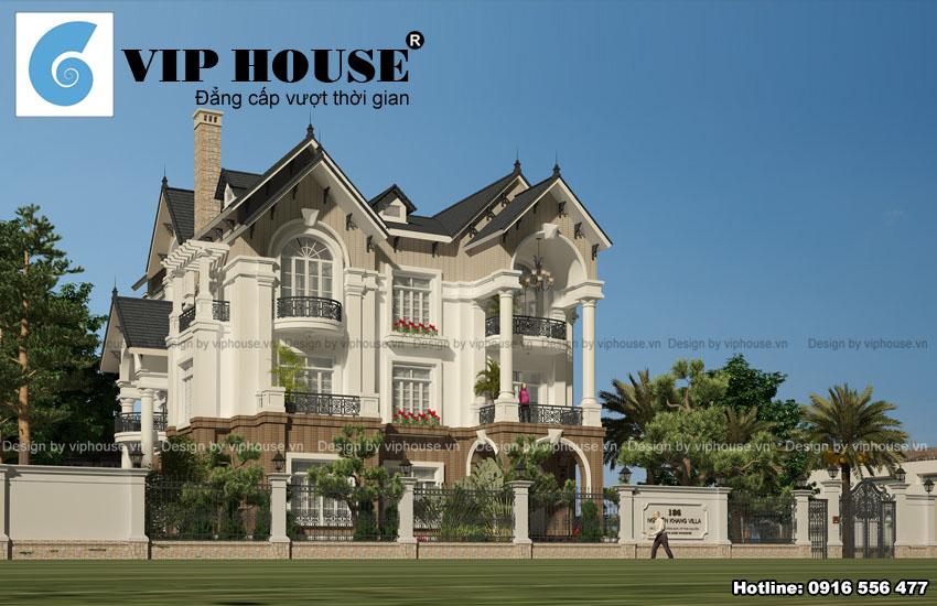 10+ thiết kế biệt thự kiểu Pháp đẹp nhất mọi thời đại