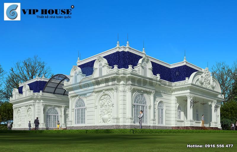 Top 7 thiết kế biệt thự kiểu Pháp đẹp cuốn hút từ KTS Vip House
