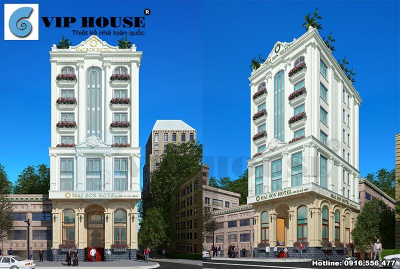 Thiết kế khách sạn tân cổ điển ấn tượng tại Quy Nhơn không xem sẽ nuối tiếc