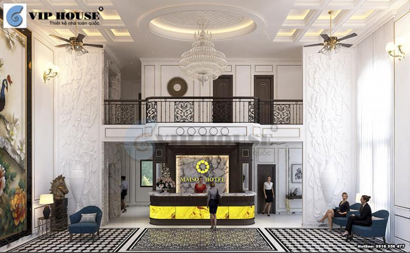 Mẫu thiết kế nội thất khách sạn đẹp không thể bỏ lỡ